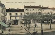 """42 Loire CPA FRANCE 42 """"Roanne, Place du Marché"""""""