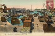 """42 Loire CPA FRANCE 42 """"Roanne, le bassin du canal"""" / Ed. L.L."""