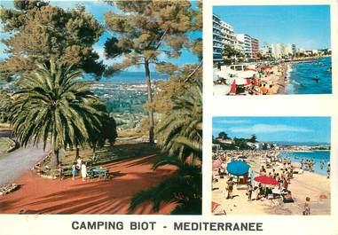 """/ CPSM FRANCE 06 """"Camping Biot Méditérranée"""""""
