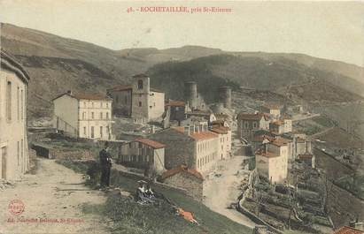 """CPA FRANCE 42 """"Rochetaillée près Saint Etienne"""""""