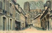 """80 Somme CPA FRANCE 80 """"Abbeville, rue de l'Hotel Dieu"""""""