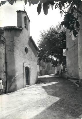"""/ CPSM FRANCE 06 """"Cabris, l'avenue Frédéric et la Chapelle Saint Sébastien"""""""