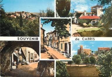 """/ CPSM FRANCE 06 """"Souvenir de Cabris """""""