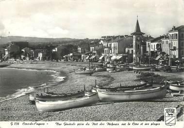 """/ CPSM FRANCE 06 """"Cros de Cagnes, vue générale prise du port des pêcheurs"""""""