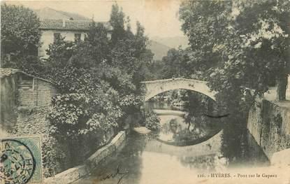 """CPA FRANCE 83 """"Hyères, Pont sur la Gapeau"""""""