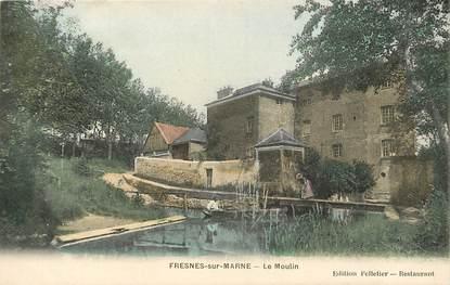 "CPA FRANCE 77 ""Fresnes sur Marne"""