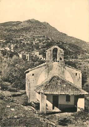 """/ CPSM FRANCE 06 """"Clans, et la chapelle Saint Antoine"""""""