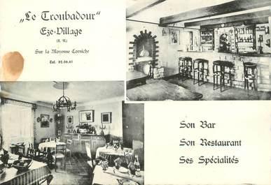 """/ CPSM FRANCE 06 """"Eze village, le Troubadour"""""""