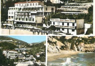 """/ CPSM FRANCE 06 """"Eze bord de Mer, hôtel pension Lou Casteu"""""""