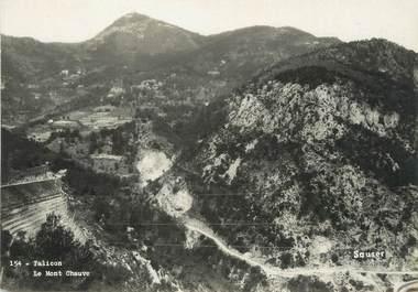 """/ CPSM FRANCE 06 """"Falicon, le Mont Chauve"""""""