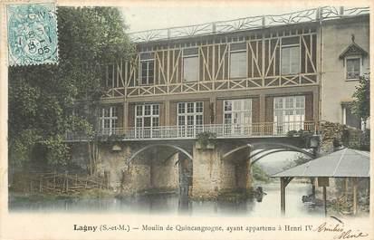 "CPA FRANCE 77 ""Lagny, moulin de Quincangrogne"""