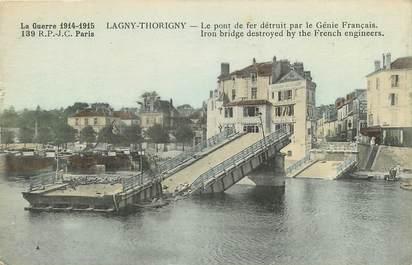 "CPA FRANCE 77 ""Lagny Thorigny"""