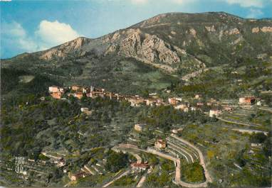 """/ CPSM FRANCE 06 """"Gorbio, vue générale et le Mont Agel"""""""