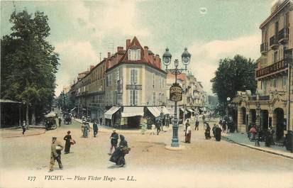"CPA FRANCE 03 ""Vichy, Place Victor Hugo"" / Ed. L.L."