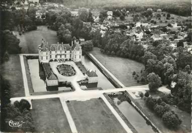 """/ CPSM FRANCE 77 """"Bourron, vue aérienne du château"""""""