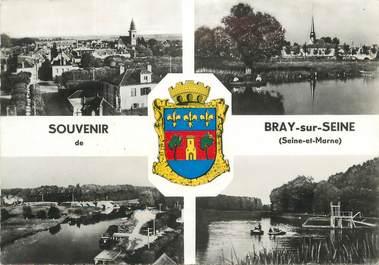 """/ CPSM FRANCE 77 """"Bray sur Seine"""""""