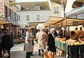"""77 Seine Et Marne / CPSM FRANCE 77 """"Bray sur Seine, le marché"""""""