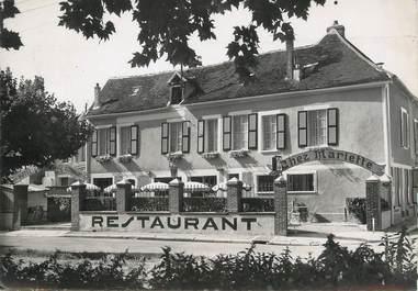 "/ CPSM FRANCE 77 ""Bray sur Seine, hôtel restaurant chez Mariette"""