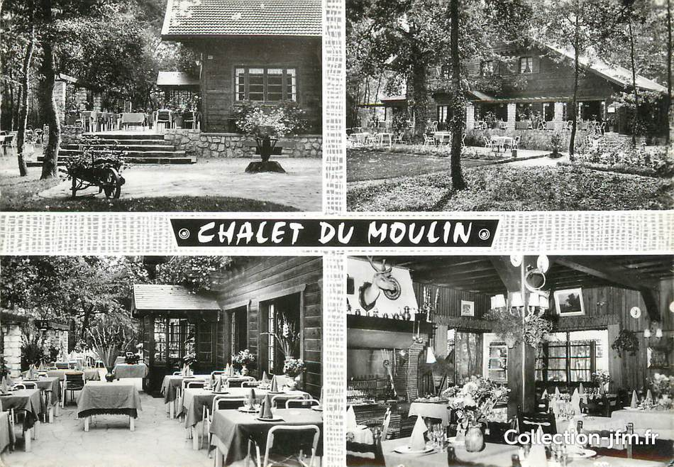 cpsm france 77 chailly en bi re auberge le chalet du. Black Bedroom Furniture Sets. Home Design Ideas