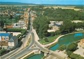 """77 Seine Et Marne / CPSM FRANCE 77 """"Claye Souilly, vue sur le canal de l'Ourcq"""""""
