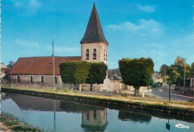 "/ CPSM FRANCE 77 ""Claye Souilly, l'église"""