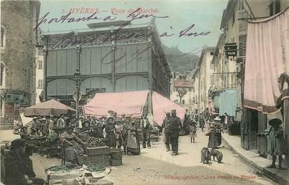 """CPA FRANCE 83 """"Hyères, Place du Marché"""""""