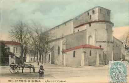 """CPA FRANCE 33 """"Saint André de Cubzac, L'Eglise du XIIème siècle"""""""