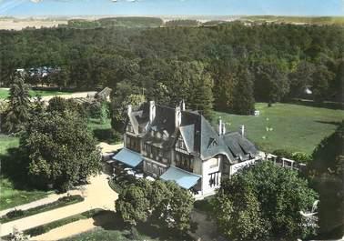 "/ CPSM FRANCE 77 ""Fontenay Tresigny, manoir de Chaubuisson, la façade"""