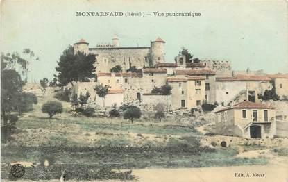 "CPA FRANCE 34 ""Montarnaud, vue panoramique"""