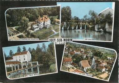 """/ CPSM FRANCE 77 """"Jouy sur Morin """""""