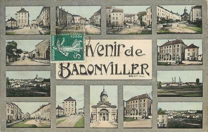 """CPA FRANCE 54 """"Badonviller"""" / Vues de la ville"""