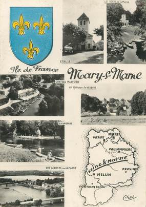 """/ CPSM FRANCE 77 """"Mary sur Marne"""""""