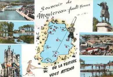 """/ CPSM FRANCE 77 """"Montereau Fault Yonne"""""""