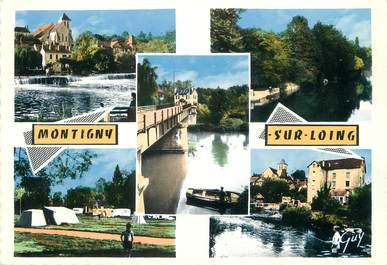 """/ CPSM FRANCE 77 """"Montigny sur Loing """""""