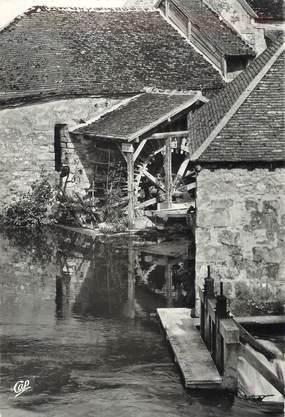 """/ CPSM FRANCE 77 """"Moret sur Loing, roue du vieux moulin"""""""