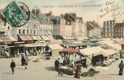 "62 Pa De Calai CPA FRANCE 62 ""Calais, le marché"""