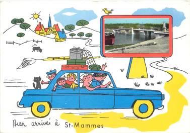 "/ CPSM FRANCE 77 ""Saint Mammès """