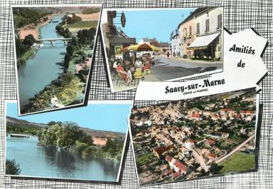"/ CPSM FRANCE 77 ""Saacy sur Marne  """