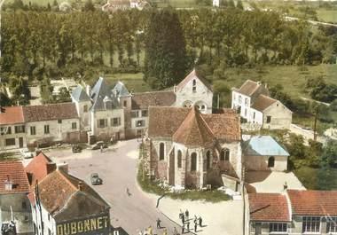 """/ CPSM FRANCE 77 """"Sablonnières, église Saint Martin"""""""
