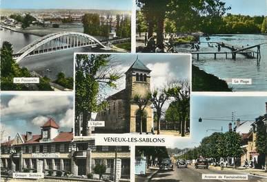 """/ CPSM FRANCE 77 """" Veneux Les Sablons"""""""