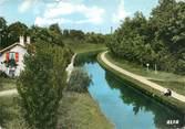 """77 Seine Et Marne / CPSM FRANCE 77 """"Villeparisis, Mitry le Neuf, le canal de l'Ourcq"""""""