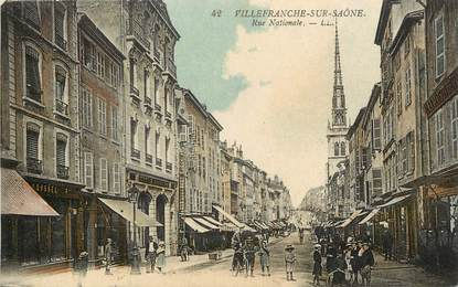 "CPA FRANCE 69 ""Villefranche sur Saône"""
