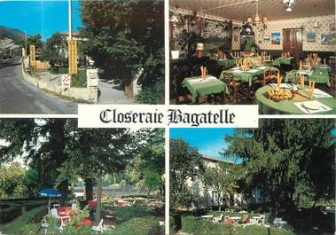 """/ CPSM FRANCE 04 """"Saint André Les Alpes, restaurant Closeraie Bagatelle"""""""