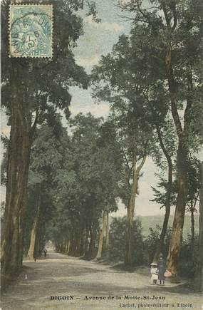 """CPA FRANCE 71 """"Digoin, avenue de la Motte Saint Jean"""""""