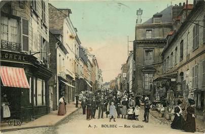 "CPA FRANCE 76 ""Bolbec, Rue Guillet"""