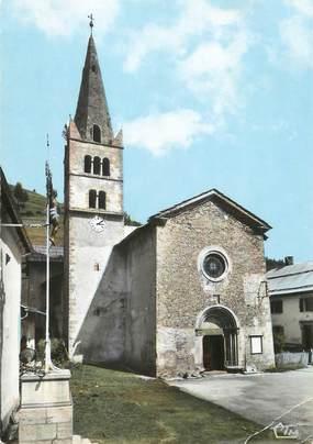 """/ CPSM FRANCE 05 """"Abriès, l'église"""""""