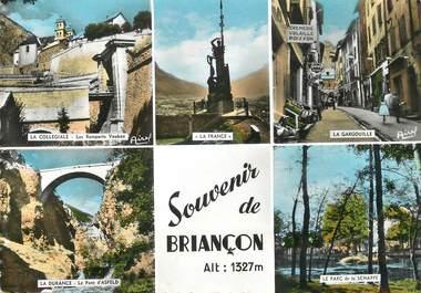 """/ CPSM FRANCE 05 """"Souvenir de Briançon"""""""