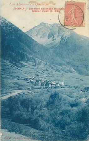 "/ CPA FRANCE 05 ""L'Echalp, glacier d'Asti"""