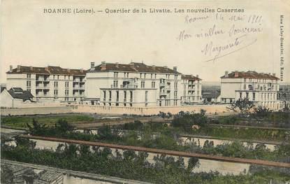 """CPA FRANCE 42 """"Roanne, Quartier de la Livatte"""""""