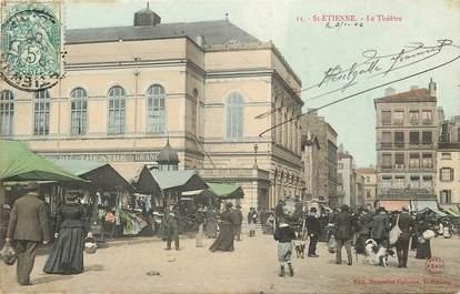 """CPA FRANCE 42 """"Saint Etienne, le Théâtre"""